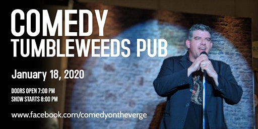 Stand-up Comedy at Tumbleweeds Pub