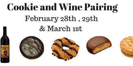 Cookie and Wine Pairing tickets