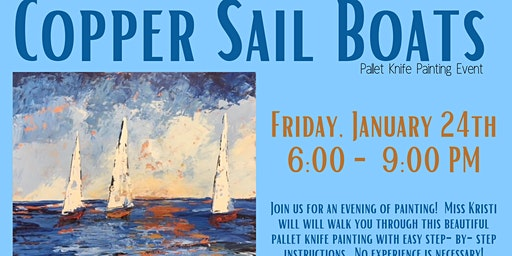 Pallet Knife Painting Event