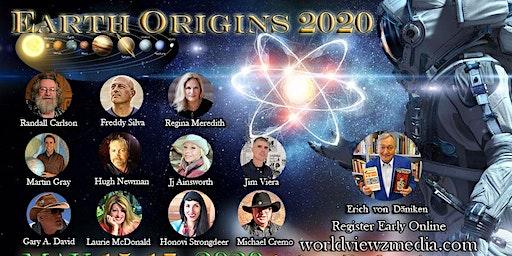 Earth Origins 2020 Fri.-Sun. May 15-17, 2020 Upper Seats M-Q