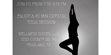 Crystal Yoga @ The Wellness Market tickets