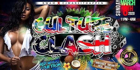 Culture Clash Miami #SpringBreakMiami2020 tickets