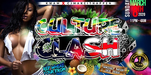 Culture Clash Miami #SpringBreakMiami2020