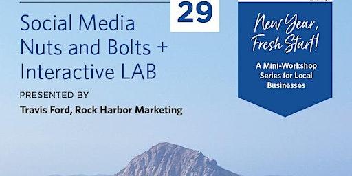 New Year Fresh Start! Workshop: Social Media Nuts & Bolts
