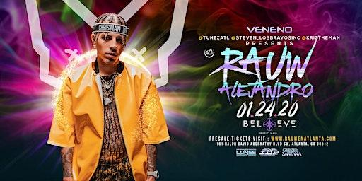 Rauw Alejandro Live at Believe Music Hall   01.24.20