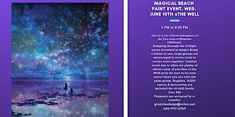 Magical Beach Paint Event tickets