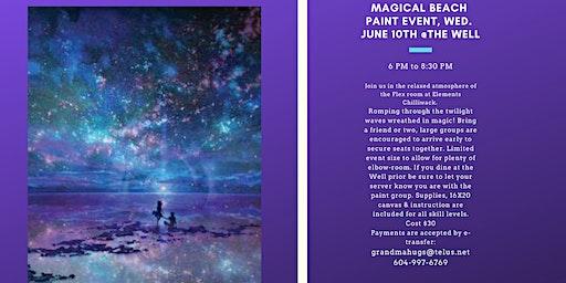 Magical Beach Paint Event