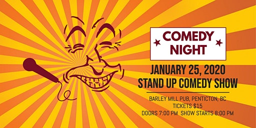 Comedy at the Barley Mill Pub