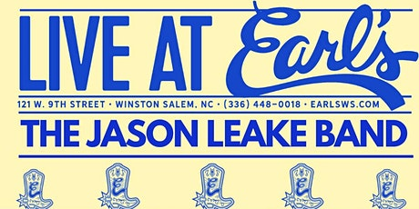 Jason Leake Band Live at Earl's tickets