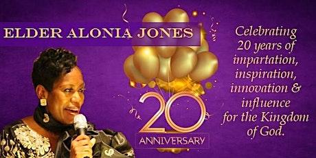 Celebrating Elder Alonia Jones' 20 Years of Ministry tickets