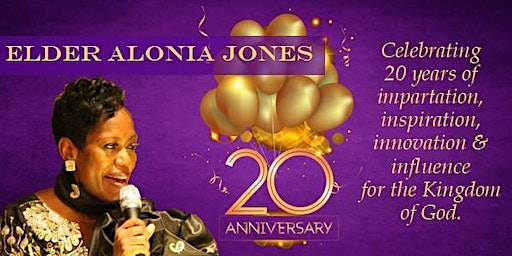 Celebrating Elder Alonia Jones' 20 Years of Ministry