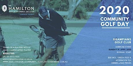 College Community Golf Day 2020 tickets