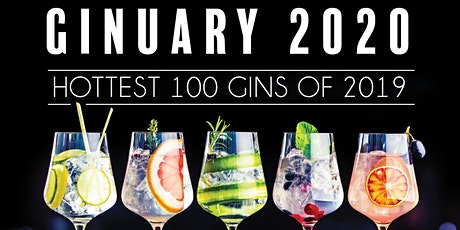 Ginuary 2020 | Hottest 100 Aussie Gins of 2019 - Live Countdown tickets