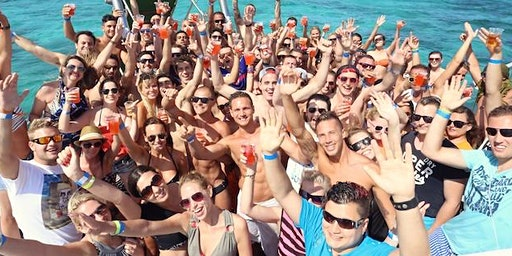 SPRING BREAK - Miami Party Boat - Unlimited drinks & Open Bar & more !