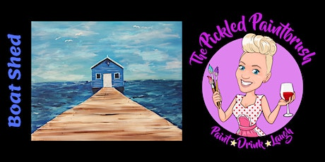Painting Class - The Boat Shed - January 23, 2020 tickets