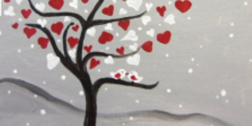 Winter Wine and Canvas at the Verve