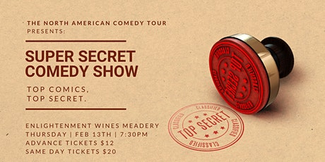 Super Secret Comedy Show at Enlightenment Wines Meadery tickets