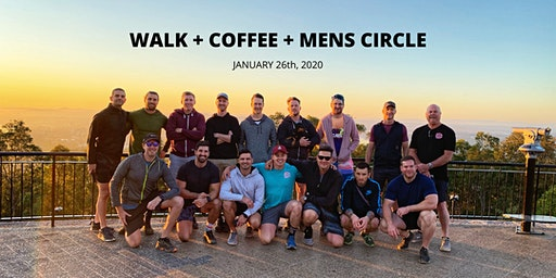 Mens Circle + Walk: The Man That Can project (January)