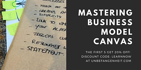 Mastering Business Model Canvas tickets