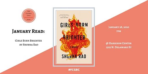 For Colored Girls Book Club: Girls Burn Brighter