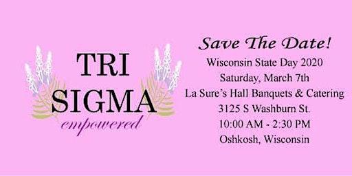 Sigma Sigma Sigma Wisconsin State Day 2020