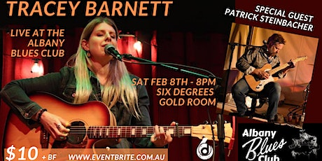 Albany Blues Club Presents Tracey Barnett supported by Patrick Steinbacher tickets