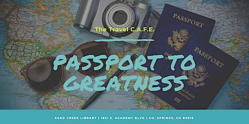Passport to Greatness Workshop