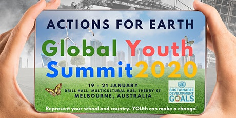 Global Youth Summit 2020- Actions for Earth tickets