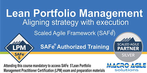 SAFe®5 Lean Portfolio Management Practitioner with Certification