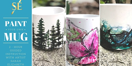 Paint & Sip: Paint Your Own Coffee Mugs! tickets