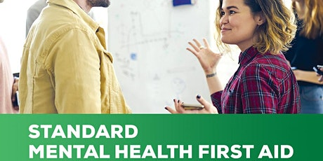 Mental Health First Aid Course-Standard tickets