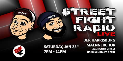 Street Fight Radio LIVE in Harrisburg!