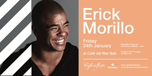 Café del Mar Bali presents  Erick Morillo