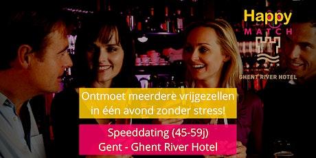 Speeddating Gent, 45-59j tickets