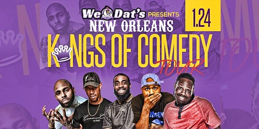New Orleans Kings of Comedy CHALMETTE EDITION