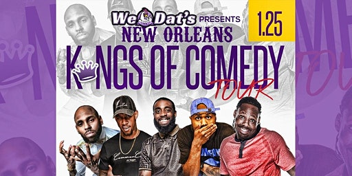 New Orleans Kings of Comedy HOUSTON EDITION