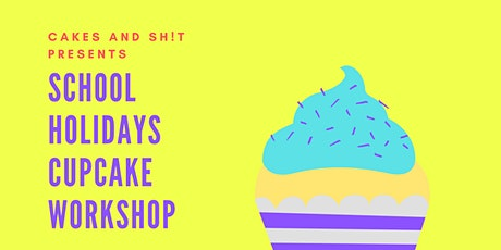 School Holidays Cupcake workshop tickets