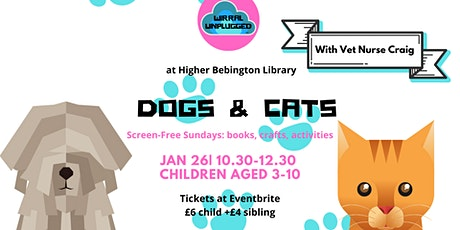 Dogs and Cats: Wirral Unplugged Wk 3 tickets