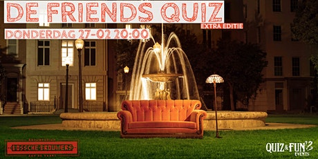 De Friends Quiz | Den Bosch tickets