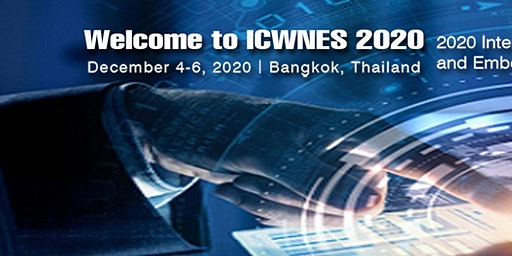 Conference on Wireless Networks and Embedded Systems (ICWNES 2020)