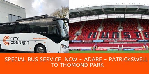 Bus Service from Newcastlewest to Munster V Ospreys at Thomond Park