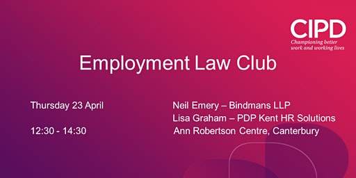 Employment Law Club April 2020
