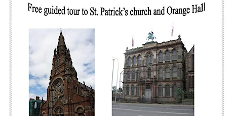 Free Guided Tour to St. Patrick's Church and Orange Hall in Belfast tickets
