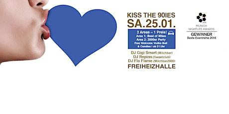 Kiss the 90ies - Münchens größte 90er Party I Januar 2020 Tickets