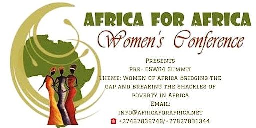 Launch of International Women's Month: Pre-CSW64 Summit