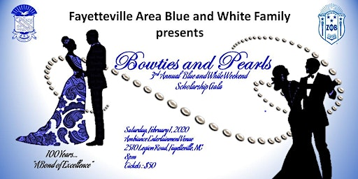 Scholarship Gala - Fayetteville Area Blue and White Family