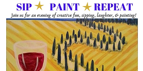 SIP & PAINT PARTY FUNDRAISER tickets