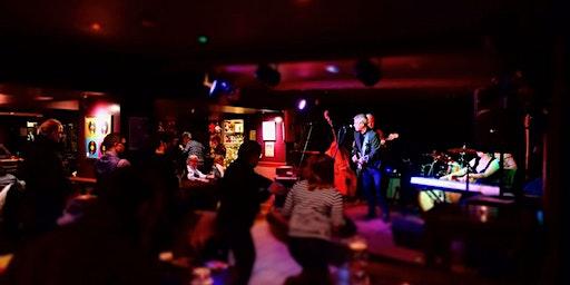 Thursday Night Jams:  Swing Time with Host Stuart Nisbet an Co.