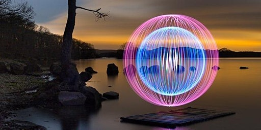 LIGHT PAINTING PHOTOGRAPHY EXPERIENCE PLYMOUTH DEVON