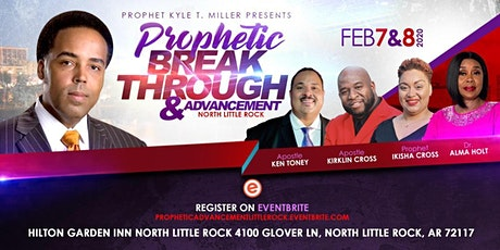 Prophetic Advancement and Breakthrough tickets